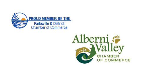 Member of Alberni Valley Chamber of Commerce